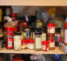 Cluttered Spice Cabinet? Use These Clever Storage Hacks
