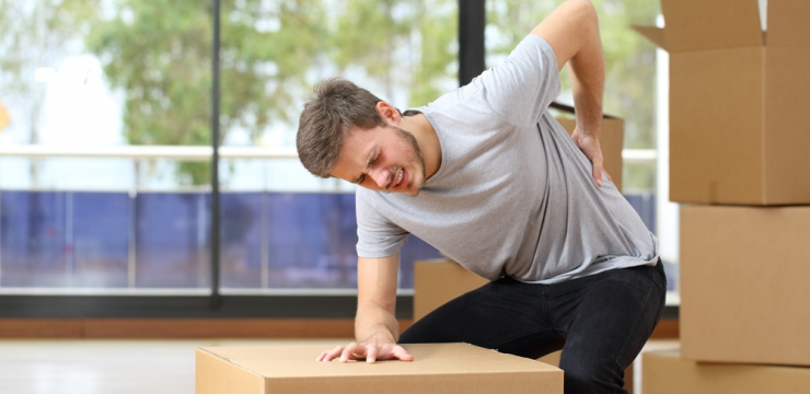4 Common Injuries Sustained During a Move