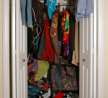 Declutter the Closet with These Tips
